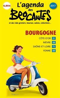 L'agenda des brocantes Bourgogne. n° 2017,
