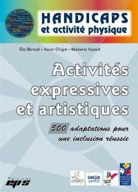 Activités expressives et artistiques