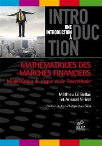 Mathématiques des marchés financiers