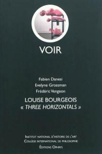 Louise Bourgeois, Three Horizontals
