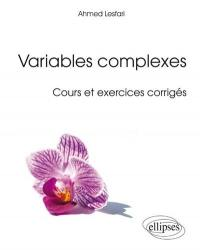 Variables complexes
