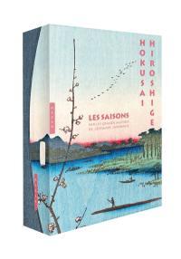 Les saisons par les grands maîtres de l'estampe japonaise : Hokusai, Hiroshige