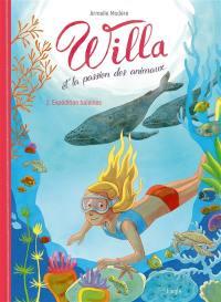 Willa et la passion des animaux. Volume 2, Expédition baleines