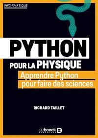 Python pour la physique