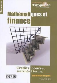 Mathématiques et finance