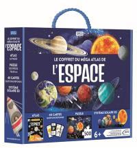 Le coffret du méga atlas de l'espace