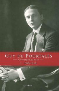 Correspondances. Volume 1, 1909-1918