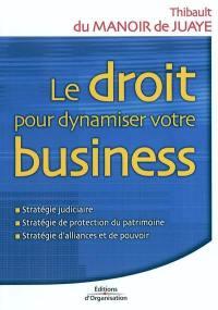 Le droit pour dynamiser votre business
