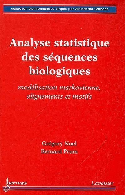Analyse statistique des séquences biologiques
