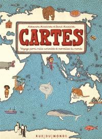 Cartes : voyage parmi mille curiosités et merveilles du monde : édition limitée