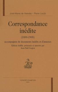 Correspondance inédite (1890-1905)