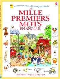 Les mille premiers mots en anglais