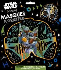 Star Wars : masques à gratter