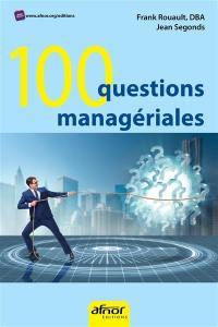100 questions managériales