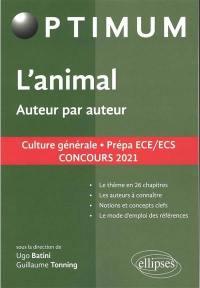 L'animal, auteur par auteur