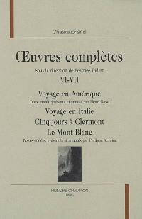 Oeuvres complètes. Volume 6-7,