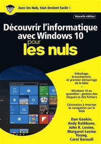 Découvrir l'informatique avec Windows 10
