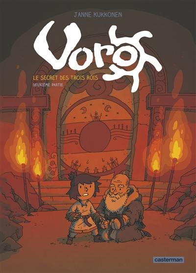 Voro. Volume 2, Les trois serrures