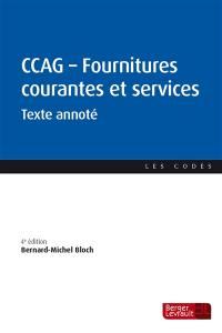 Cahier des clauses administratives générales