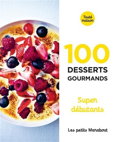 100 desserts gourmands