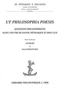 Ut philosophia poesis