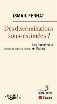 Des discriminations sous-estimées ?