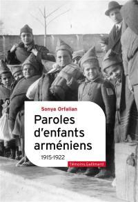 Paroles d'enfants arméniens