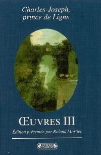 Oeuvres. Volume 3,