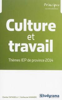 Culture et travail