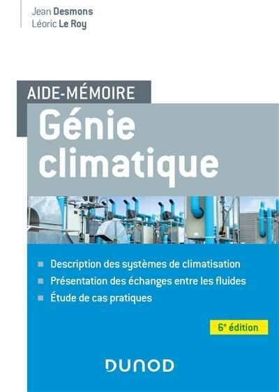 Génie climatique : aide-mémoire