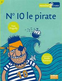 N° 10 le pirate