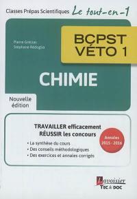 Chimie BCPST-Véto 1