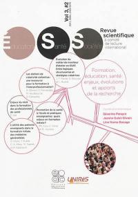 Revue éducation, santé, sociétés. n° 3-2, Formation, éducation, santé