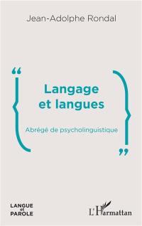 Langage et langues