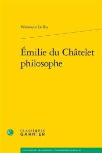 Emilie du Châtelet philosophe