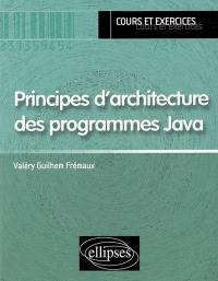 Principes d'architecture des programmes Java