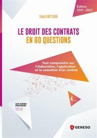 Le droit des contrats en 60 questions