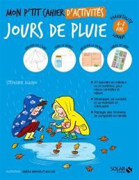Mon p'tit cahier d'activités jours de pluie
