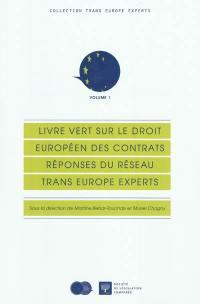 Livre vert sur le droit européen des contrats