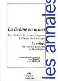 Annales de la Société des amis de Louis Aragon et Elsa Triolet. n° 12, La Drôme en armes