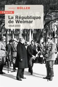 La République de Weimar : 1919-1933