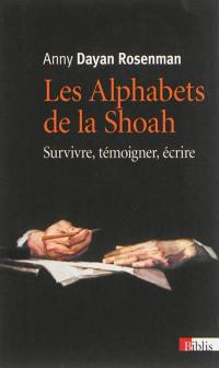 Les alphabets de la Shoah