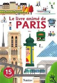 Le livre animé de Paris