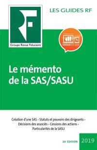 Le mémento de la SAS, SASU