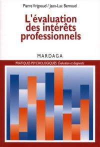 L'évaluation des intérêts professionnels