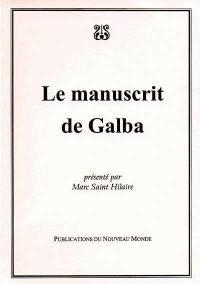 Le manuscrit de Galba