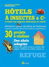Hôtels à insectes & Cie