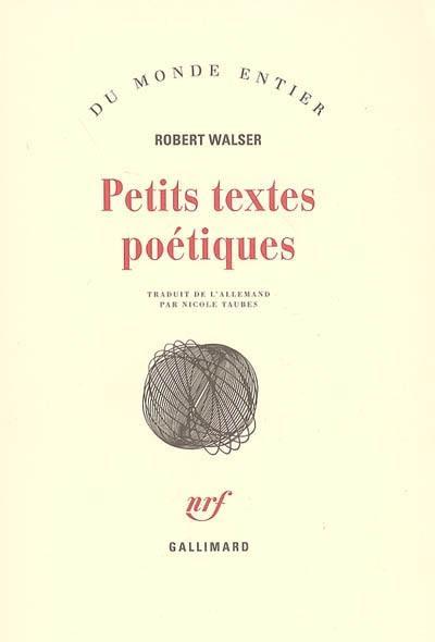 Petits textes poétiques