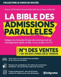La bible des admissions parallèles