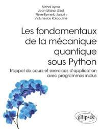 Les fondamentaux de la mécanique quantique sous Python
